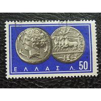 Греция. Монеты.
