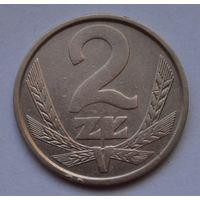 Польша 2 злотых, 1983 г.