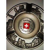 Пепельница-сувенир из Швейцарии