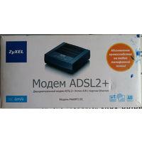 Двухдиапазонный модем Zyxel ADSL2+Annex A/B c портом Ethernet. Модель P660RT2 EE