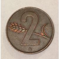 Швейцария, 2 раппена 1963