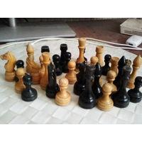 Шахматные фигурки СССР деревянные без доски