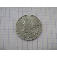 Гватемала 25 центавос 1987г.km278.5