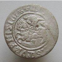 Литовский полугрош 1518 года , редкий III , H55 P в Lithuanian Coins 1495-1536