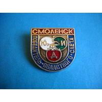 Значок Победитель областного слета ЮДИ г. Смоленск