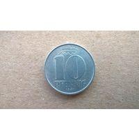 ГДР 10 пфеннигов, 1967г.