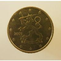 Финляндия 50 евроцентов 2009 г.