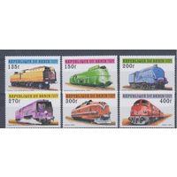 [867] Бенин 1997.Поезда,локомотивы.