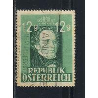 Австрия Респ 1947 Франц Шуберт 150-летие #801