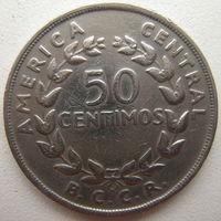 Коста-Рика 50 сентимо 1970 г. (u)
