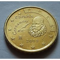 10 евроцентов, Испания 2005 г.