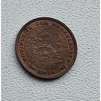 Нидерланды 1/2 цента, 1934 3-15-5