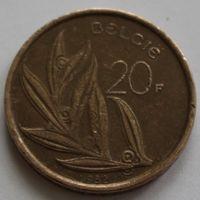 Бельгия, 20 франков 1982 г. 'BELGIE'
