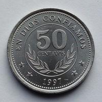 Никарагуа 50 сентаво. 1997