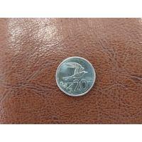 20 центов 2015 Острова Кука