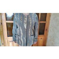 Пиджак женский замшевый- на весну