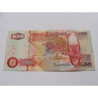 Замбия. 50 квача 1992 год UNC