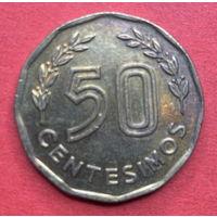 Уругвай, 50 сентесимо 1981г.