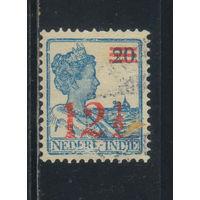 NL Колонии Нидерландская Индия (Индонезия) 1930 Вильгельмина Надп Стандарт #178