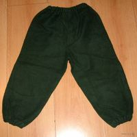 Теплые штаны для дома байковые 3-4 года