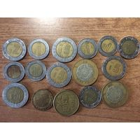 Лот монет Мексики