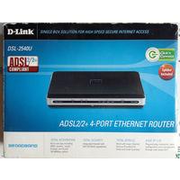 D-Link DSL-3540U. ADSL2/2+4-port ethernet router
