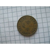 Гонконг Брит. 10 центов 1949г.