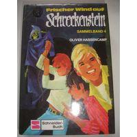 Книга на немецком языке Ужастики приключения подростков Увлекательный роман