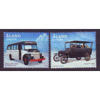 Аланды 2012 - Транспорт. Автобусы Автомобиль ** серия
