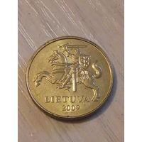 Литва 20 центов 2009г.
