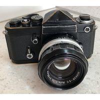 Nikon F2 Black + Nikkor-SC 50mm 1:1.4 Ai-d