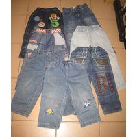 Лот детских джинсов