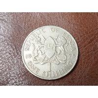 1 шиллинг 1975 Кения