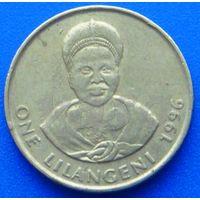 6585:  1 лилангени 1996 Свазиленд