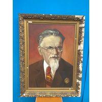 Картина портрет М. И.  Калинин, холст, масло, авторская