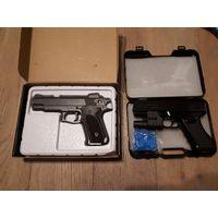 Игрушечный детский пневматический пистолет