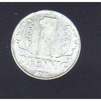 1 пфенниг Германия 1968_Лот #0377