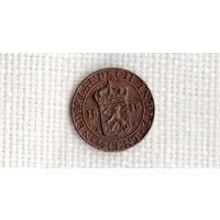 Нидерландская Голландская Индия 1/2 цента 1945 //(МJ)