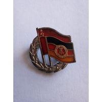 Значок Советско-Германская дружба. Тяж. Мет.