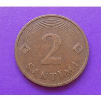 2 сантима 1992 Латвия #01