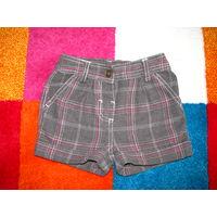 Теплые шорты для девочки на 2-4 года