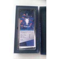 Билет на финал Лиги чемпионов  Тотенхем-Ливерпуль