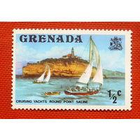 Гренада. Парусник. ( 1 марка ).