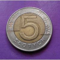 5 злотых 1994 Польша #02