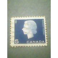Канада. Стандарт. 1962г. гашеная