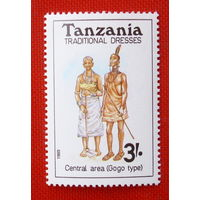 Танзания.  ( 1 марка ) 1989 года.
