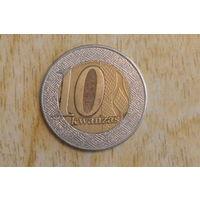 Ангола 10 кванз 2012
