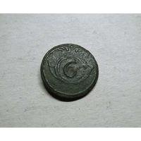 Пуговица 6-го легкого полка. Франция. 1812 год. Из старой коллекции. С 1 р.