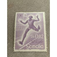 Сомали 1958. Олимпиада в Риме. Бег