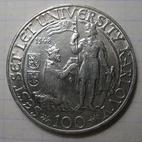 100 крон, 1948 год, Чехословакия.